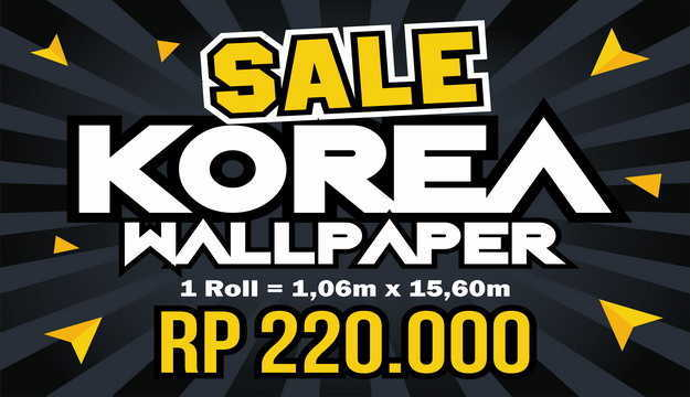 Sale Wallpaper Korea