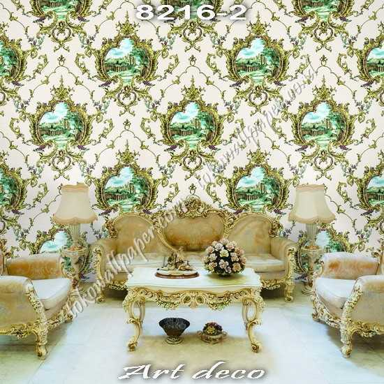 03 Jual ART DECO Korea Wallpaper