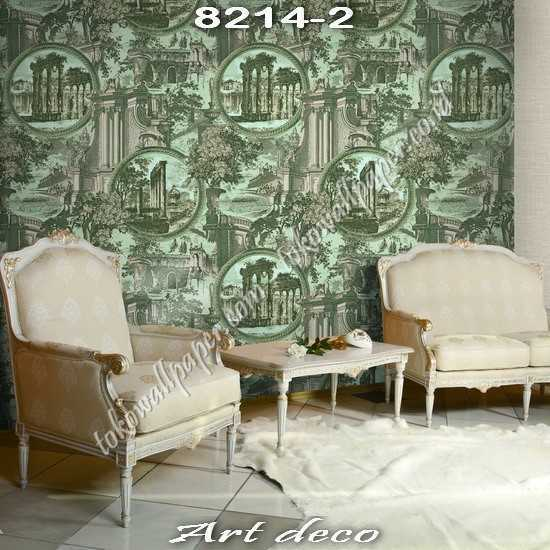 15 Jual ART DECO Korea Wallpaper