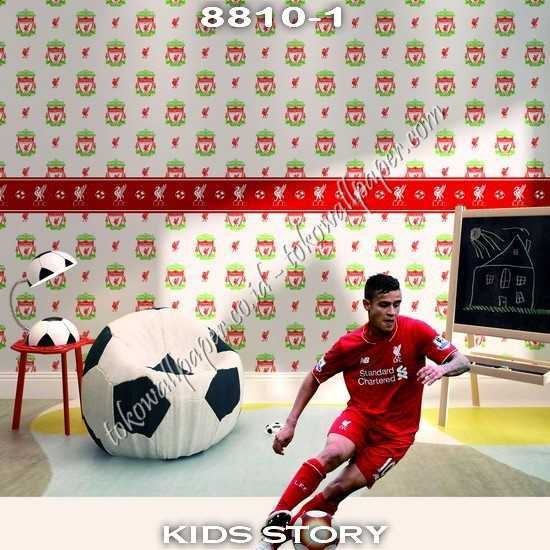 03 Wallpaper Kamar Anak Kids Story