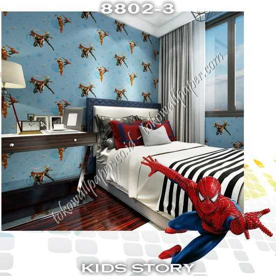08 Wallpaper Kamar Anak Kids Story