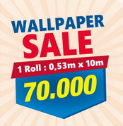Sale Wallpaper 70.000